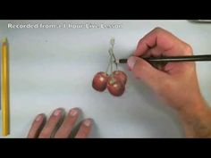 ▶ How to Draw with Colored Pencils - Cherries Excerpts - YouTube