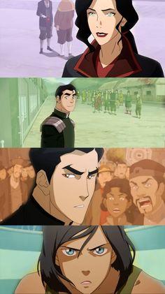 Team Avatar - 3 Years Later — Legend of Korra, Balance (4x01)