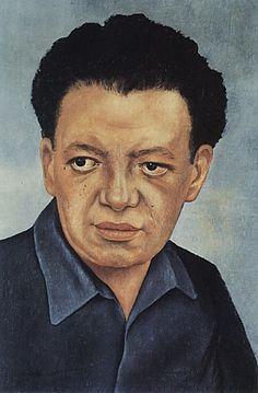 Frida Kahlo. Portrait of Diego Rivera 1937