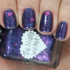 Lynnderella The Night We Met | ValenTime Collection | Peachy Polish