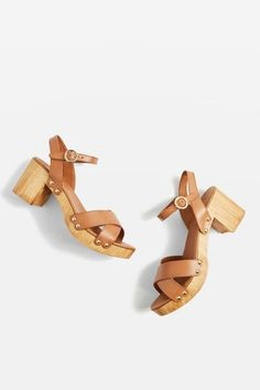 Tan Valerie 2 Cross Strap Sandals