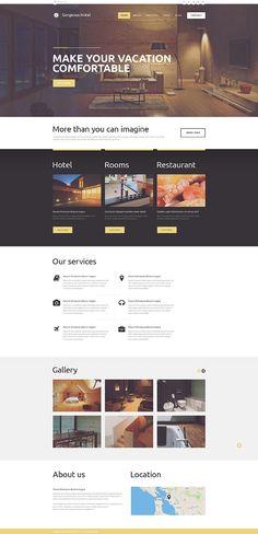 #hotel #WordPress #theme