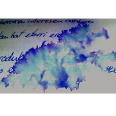 Tie dye notes #dye #notes #lightblue #darkblue #tiedye #like #water #school #PicsArt