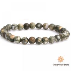Joy and Positivity Bracelet (Rhyolite) Gemstone Bracelets, Gemstone Jewelry, Joy And Happiness, Crystals And Gemstones, Joyful, Crystal Healing, Natural Stones, Creativity, Positivity