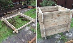 interlocking raised vege box