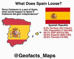 What if Catalonia was a Country? ⚌ By @geofacts_maps !! #catalonia #spain #france #maps #geography #egypt #med #mediteranean