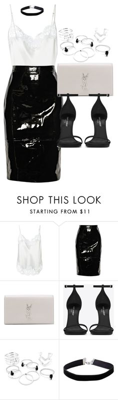 """""""Style #11273"""" by vany-alvarado ❤ liked on Polyvore featuring Givenchy, Yves Saint Laurent and Miss Selfridge"""