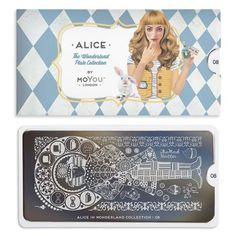 Take a trip down the rabbit hole and join Alice on her adventures in wonderland to unlock your own gorgeous nail art style. Adventures In Wonderland, Alice In Wonderland, London Heart, Nail Art Designs Images, Nail Art Stamping Plates, Image Plate, Plate Design, Gorgeous Nails, Collection