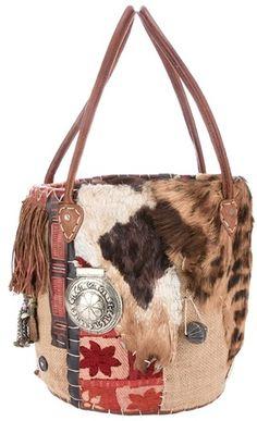 Ethnic Bucket Bag