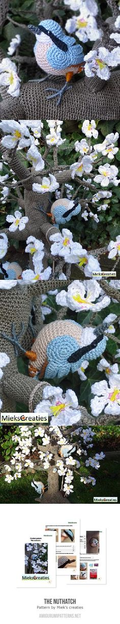 The Nuthatch Amigurumi Pattern