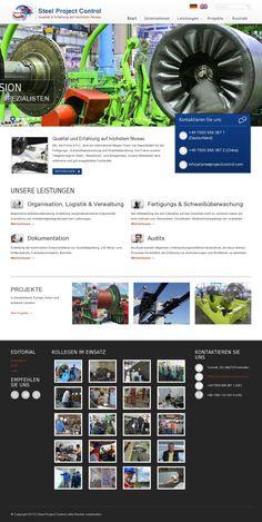 The Website for 'http://www.steelprojectcontrol.com/de/'   #seo #webdesign #design #socialmedia #internetmarketing #marketing #business #GBinteractive #website #webseite Visit us: www.gbinteractive.de