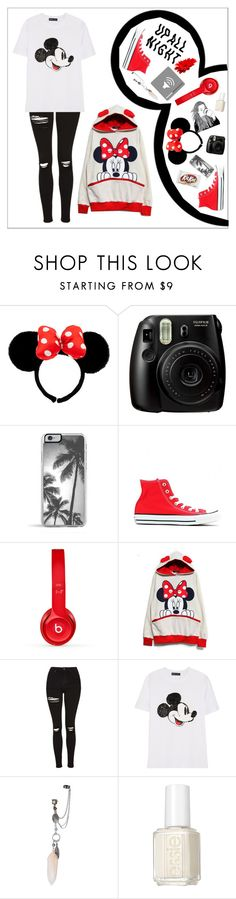 """""Who says we have to grow up?"" - Walt Disney"" by ngocxdo ❤ liked on Polyvore featuring Zero Gravity, Converse, Beats by Dr. Dre, Topshop, Markus Lupfer and Essie"