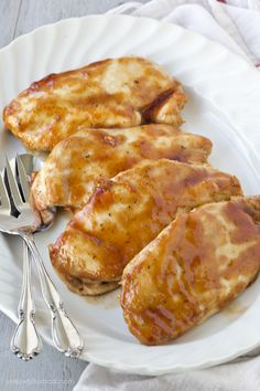 Even though grilling season nearly over for most of the country, you can still get that delicious barbecue chicken that you love with this easy Baked Barbecue Chicken recipe. Just like my Baked Chicken Breast recipe, this one uses simple spices and a quick roasting method to get the most tender and juicy chicken. I …