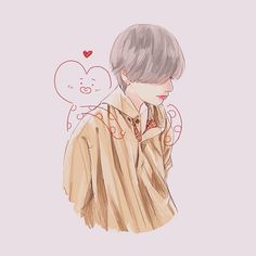 amazing beautiful tata and tae drawing Bts Chibi, Bts Taehyung, Taehyung Fanart, Kpop Fanart, Chanbaek Fanart, Foto Bts, Bts Photo, Fan Art, Bts Cute