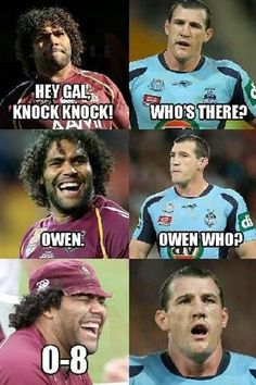 State of Origin - Rugby League QLD vs NSW