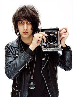 Faris Badwan and an old camera