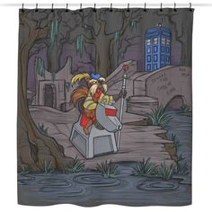 Who Shall Not Pass - Shower Curtain