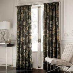 Lucia Window Curtain Panels - BedBathandBeyond.com living room