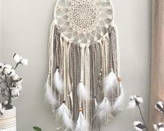 Dream catcher wall hanging   Etsy