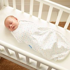 Sleeping bag / swaddle with openable arm holes - £22  Gro-snug, Gro-store