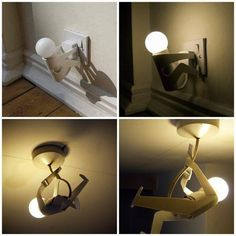 funny lamp...light with style