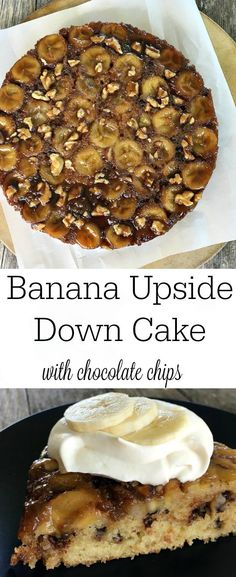 Banana Upside Down Cake is gooey and caramel-delicious. Buttermilk and ...