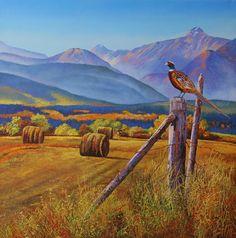 Original Nature Art by Andrew Kiss Ring Necked Pheasant, Margaret Keane, Kara Walker, Henn Kim, Alex Grey, Canadian Artists, Wildlife Art, Western Art, Landscapes
