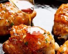 Honey Garlic Chicken | cafedelites.com