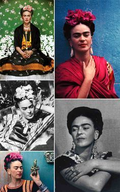 Frida Kahlo used a unique fusion of Mexican culture and bohemian flair in her everyday style that was as rich as the paintings she created.