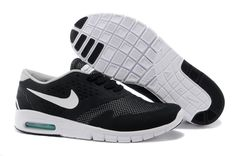 low priced 99b7d f9616 Online Best Nike Eric Koston 2 Max Skateboard Black White Lady Shoes  Beautiful Hot Sale at nikeoutletsales.com