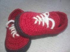 Tênis de crochê Mizuno. - YouTube