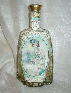 Декор предметов Декупаж Вот и бутылочки Бутылки стеклянные фото 6