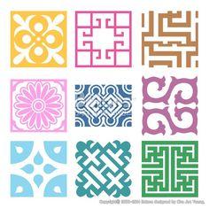 격자 무늬문양 세트. 기하학 패턴, 한국 전통문양 패턴디자인. (BPTD020211) Plaid Symbol sets. Geometric Pattern Design. Korean traditional Pattern is a Pattern Design. Copyrightⓒ2000-2014 Boians.com designed by Cho Joo Young.:
