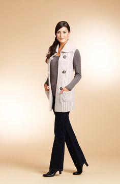 Darcy knit vest