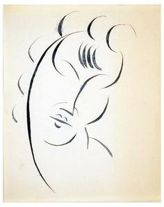 Elie Nadelman-Head of a Woman, ca. 1917-1920