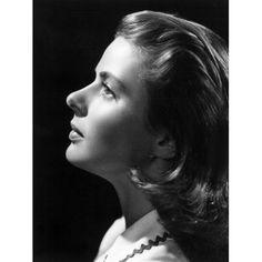 Ingrid Bergman Canvas Art - (16 x 20)