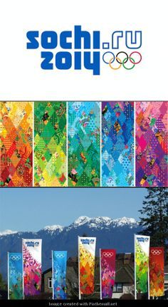 Sochi 2014 Olympic games - Branding... - a grouped images picture - Pin Them All