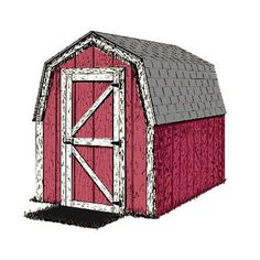 8x12 Shed Plans, Small Shed Plans, Lean To Shed Plans, Wood Shed Plans, Free Shed Plans, Barn Storage, Garden Storage Shed, Outdoor Storage Sheds, Small Storage