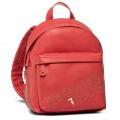 Σακκίδιο TRUSSARDI JEANS - 75B00909 M250 - Πλάτης - Τσάντες | epapoutsia.gr Jean Backpack, Leather Backpack, Fashion Backpack, Backpacks, Bags, Handbags, Leather Book Bag, Taschen, Women's Backpack