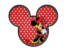 Minnie Mouse face vector - Imagui