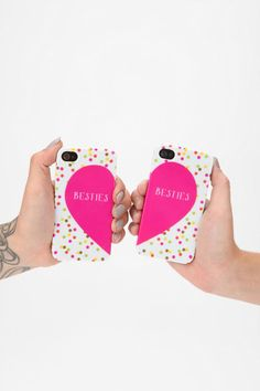 Besties iPhone 4/4s Case - Set Of 2