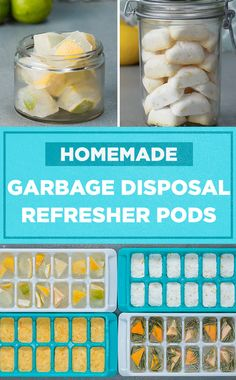 Repurpose kitchen scraps into homemade garbage disposal refresher pods to keep your kitchen smelling great! ✨