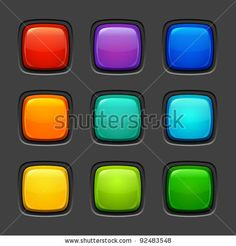 Glossy button Stock Photos, Images, & Pictures | Shutterstock