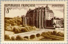 Sello: Castle Chateaudun (Francia) (Tourism) Yt:FR 873,Mi:FR 891
