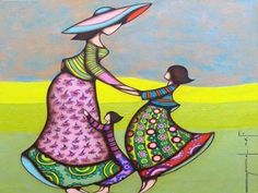 Frank Ayroles Art Buddha, Silk Painting, Beautiful Paintings, My Childhood, Whimsical, Africa, Illustration, Creative, Artist