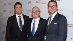 James Murdoch to Succeed Father Rupert as 21st Century Fox CEO