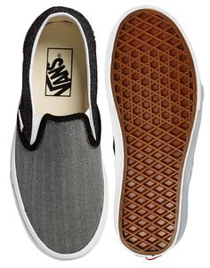 on sale 16b13 63d16 Enlarge Vans Classic Suiting Mix Slip On Trainers