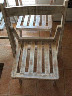 sillas de tijera restauradas