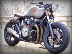 "Revolution! Honda CB750 Seven Fifty Rat Bike ""Babushka"" by Alex #motorcycles #ratbike #motos 