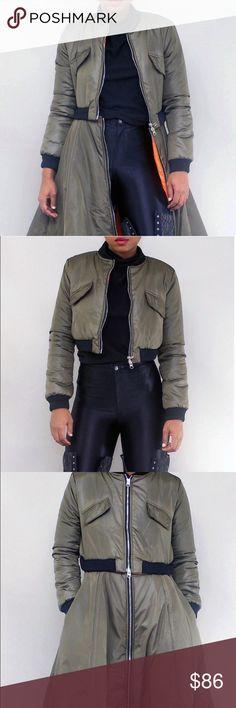 PEPLUM bomber jacket Bomber jacket Jackets & Coats Puffers